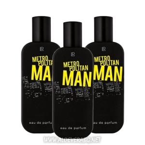 LR Мъжки Парфюм Метрополитан Metropolitan Man, Троен комплект