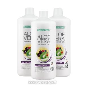 Гел за пиене Aloe Vera ACAI PRO SUMMER за Защита от Слънцето и от Дехидратация, Троен Комплект