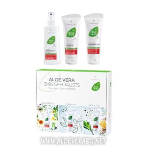 Аптечка за спешна помощ за кожата Aloe Vera Box