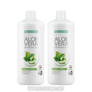 LR Алое Вера гел за пиене с коприва за прочистване на кръвоносната система,подходящ за хипертоници | Двоен комплект