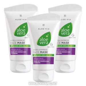 LR Aloe Vera експресно хидратираща маска за лице | Троен комплект