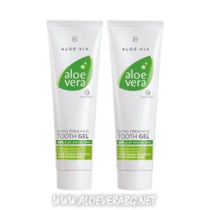 Aloe Vera изключително свежа паста за зъби, Двоен комплект
