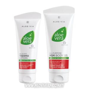 Комплект за жизненост при Схващания, Разширени вени и Болни стави | Aloe Vera