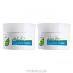 Aloe Vera коригиращ крем за Тяло с Антицелулитен ефект | Двоен комплект
