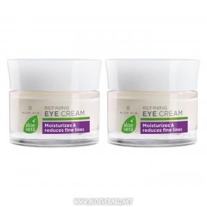 LRAloe Vera Усъвършенстващ околоочен крем за стягане и освежаване на кожата около очите | Двоен комплект