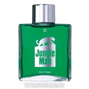 Афтършейв Jungle Man, Екзотична грижа за След Бръснене