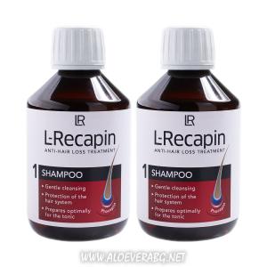 L-Recapin Шампоан против косопад | Двоен комплект