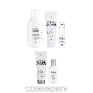 LR Microsilver Plus Комплект за Хигиена и Грижа за Ръцете и Устната Кухина