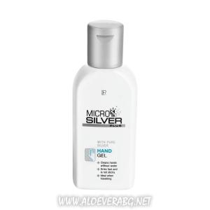 Хигиенен Гел за Почистване на РъцетеMicrosilver Plus