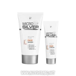Комплект за Почистване на Проблемна кожа на Лицето MICROSILVER PLUS
