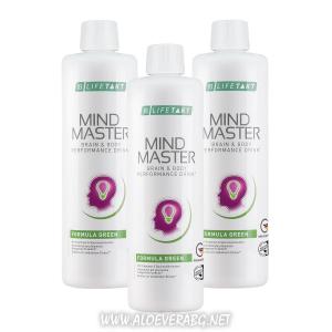 Без стрес и умора с LR Mind Master Formula GREEN | Троен комплект