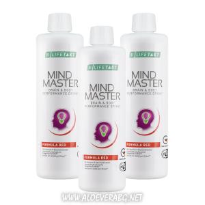 LR Mind Master formula Red - Спри стреса и напрежението | Напитка за  умствена и физическа работоспособност | Троен комплект