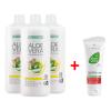 Гел за пиене за Имунната система Aloe Vera Immune Plus, Троен комплект + Алое Вера Хидратиращ Гел Концентрат 81003-1