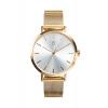 Дамски часовник с Позлатена Благородна Стомана 69037