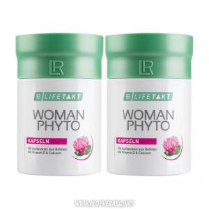 Мощна подкрепа за дамите по време на Менопаузата с Woman Phytoactiv с калций и витамин D | Двоен комплект